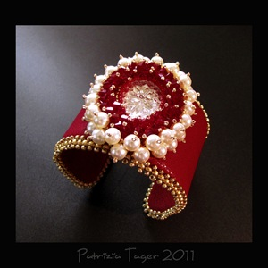 Bloody Mary Red Leather Cuff 04 copy