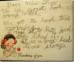 note from child to frances fox