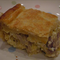 Chicken and Cheese Pie