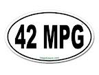 42 MPG