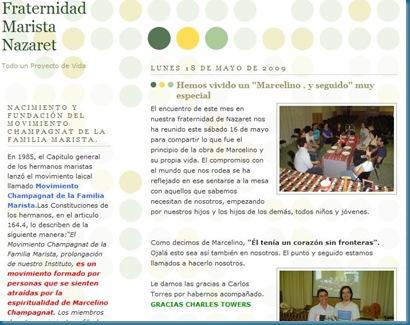 Blog Fraternidad Marista Nazaret