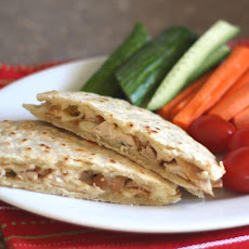 Asian Chicken Quesadillas