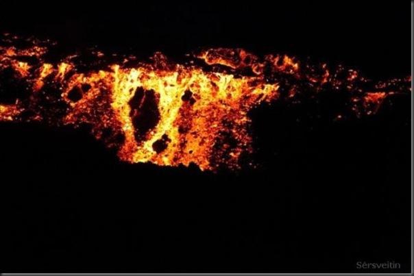 Uma erupção do vulcão islandês (24)