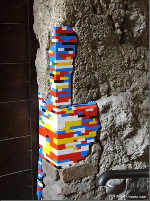 Reparando Monumentos com Lego