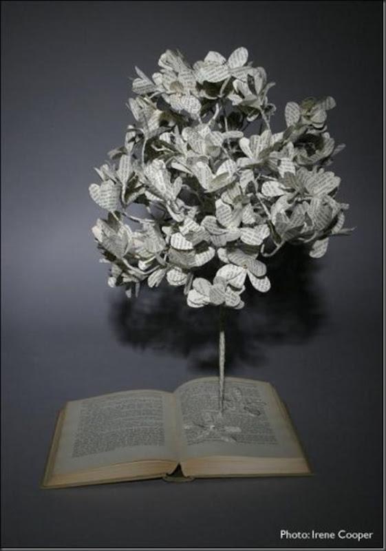 Esculturas com livros (9)
