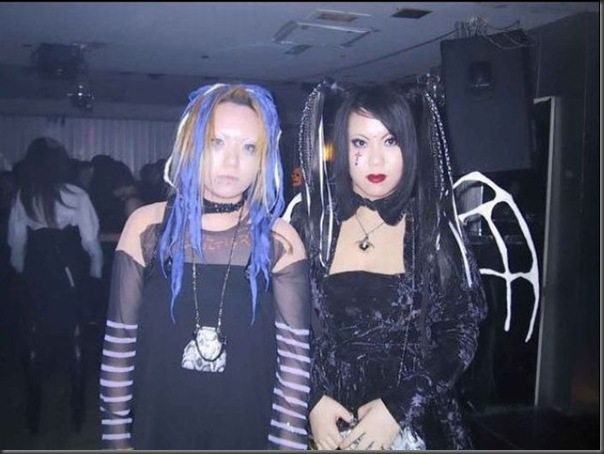 Garotas góticas no Japão (4)