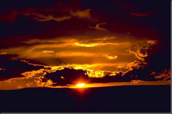 Lindas imagens do pôr do Sol (1)