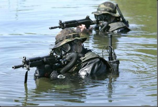 Fotos de forças especiais de diferentes países em ação (18)