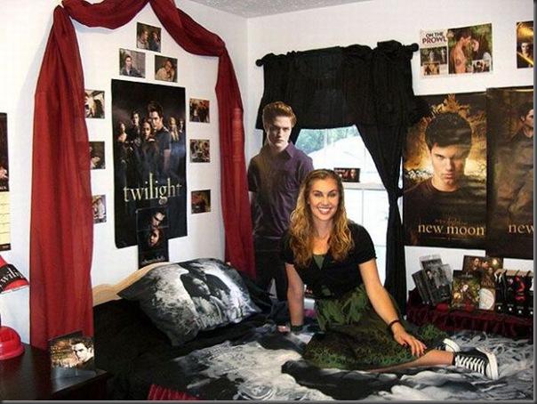 Quartos dos maiores fãs de Twilight (1)