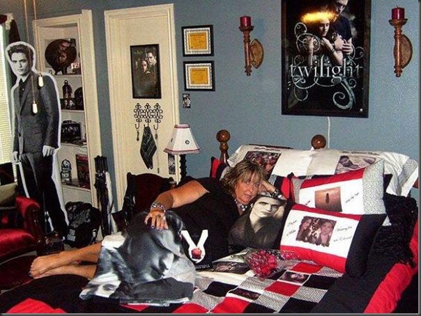 Quartos dos maiores fãs de Twilight