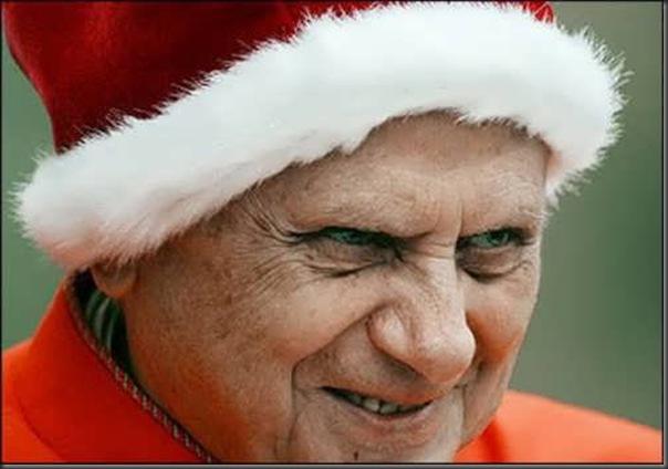 As várias faces de Papa Bento XVI (8)