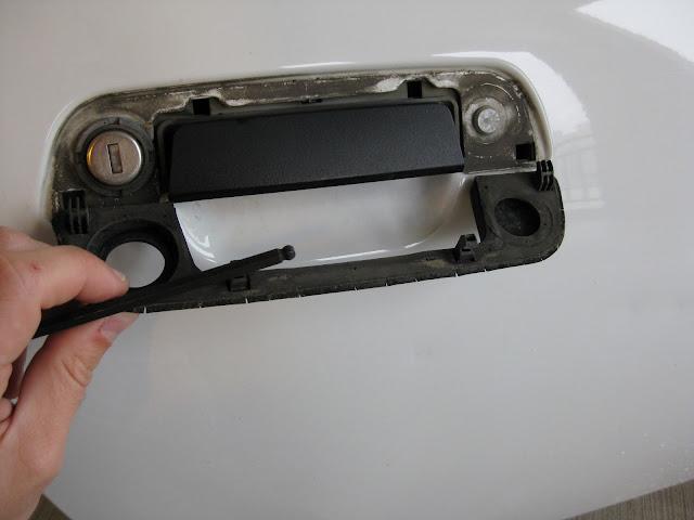 Z3 97 Replace Outside Door Handle Rubber Gasket