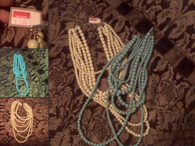 View Walmart Layered beaded necklaces $7.00 on sale