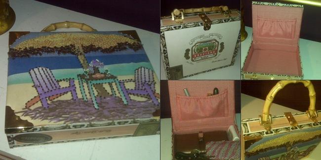 View Cigar box tote