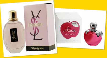 View Summer Scents Parisienne and Nina Ricci