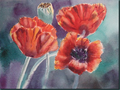 reader's poppies