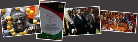 View On the trail of a new constitution, Kenya