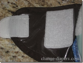velcro closure and laundry tabs