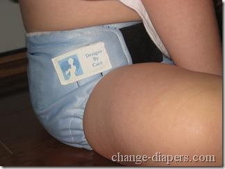 diaper on 18.5 lb baby
