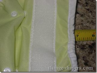 cloth diaper wrap medium folded