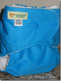 extra small setting on one size pocket diaper