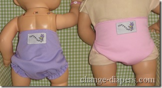 rumparooz rear on baby alive and bitty baby