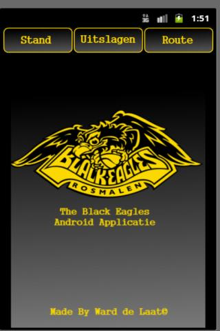 Black Eagles app