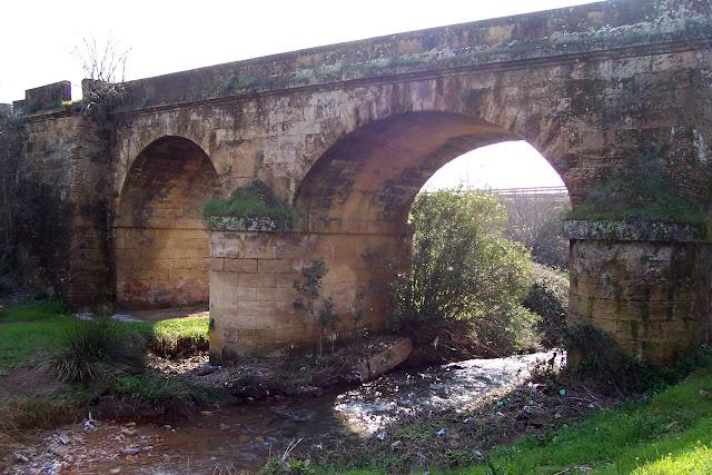 Lado norte del puente.