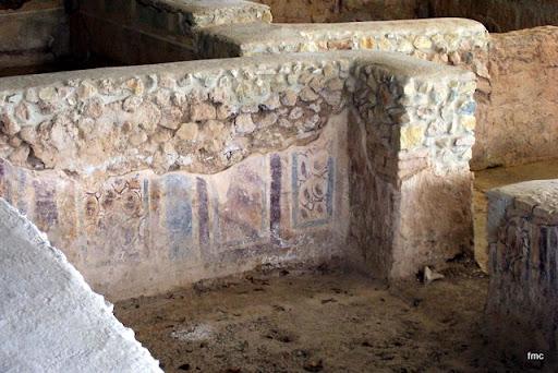 Motivo de las pinturas de las paredes
