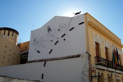 Mural en Ambrosio de Morales
