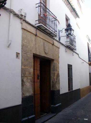 La casa nº 9 de la calle de La Palma, donde estaba la palmera