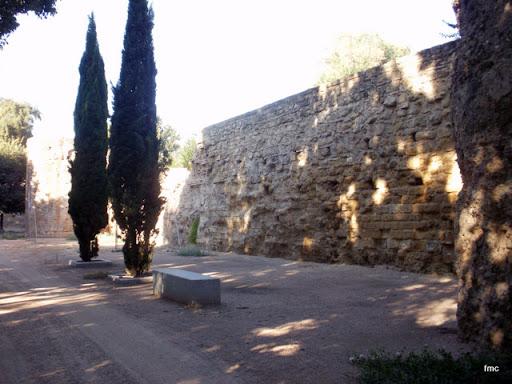 Paseo de la Muralla principios del siglo XXI.