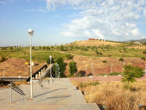 Vista del Parque de la Asomadilla desde arriba de Mirabueno.