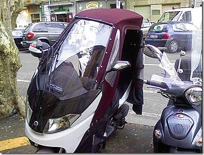 Foto0015,tetto scooter,scooter tre ruote,copertura scooter,scooter cabrio