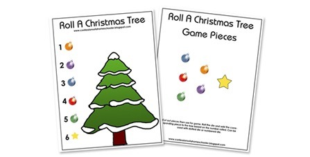 candy cane counting you can laminate these then write the number in the box or if your child isnt quite ready for writing they can use the little number - Christmas Tree Game