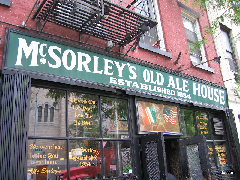 McSorley's Old Ale House 2010