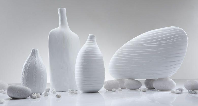 Modern White Vases Dress Your Home Best Interior