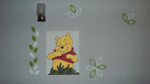 Winnie The Pooh in the Hundred Acre Wood