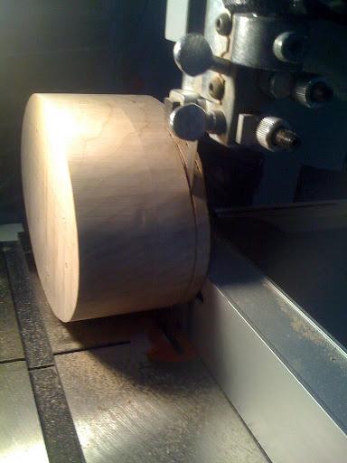 Bandsaw'd box