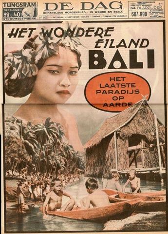 Artikel: Bali, het laatste paradijs op aarde