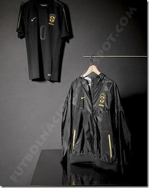 brasil camiseta negra