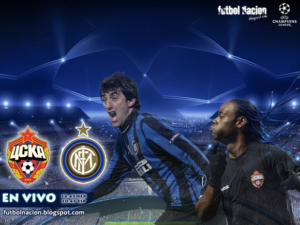 cska vs internazionale en vivo uefa champions league