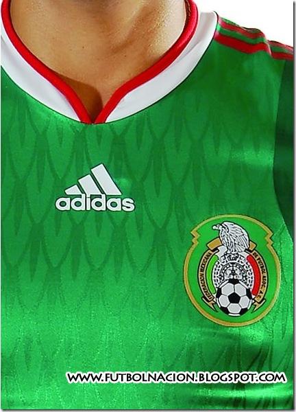nueva playera mexico mundial 2010