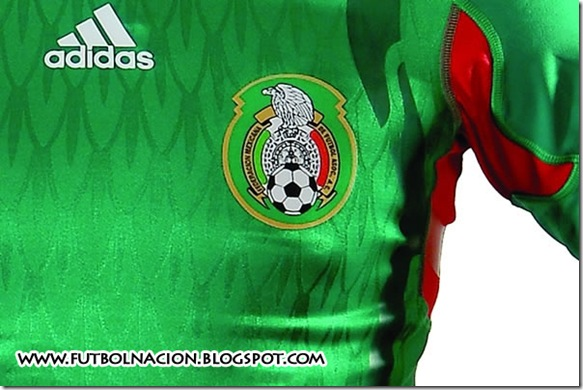 playera oficial mexico 2010