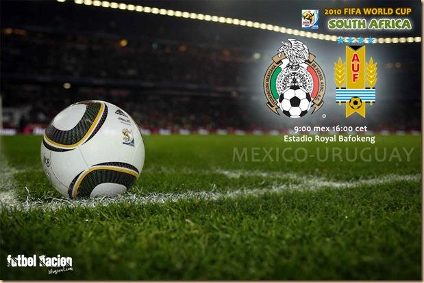 ver mexico vs uruguay en vivo sudafrica 2010