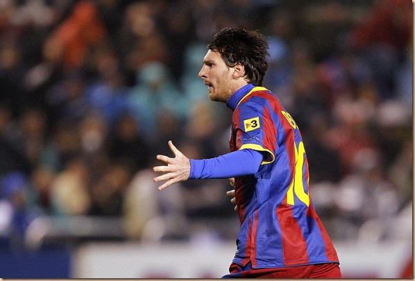 Lionel Messi barca 2011 bota de oro
