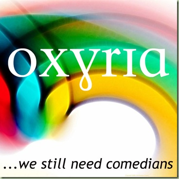 Oxyria - We Still Need Comedians