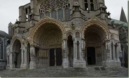 Chartres North porch