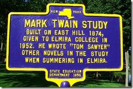 Mark Twain Study Marker