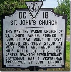 Marker OC18 - St. Johns Church